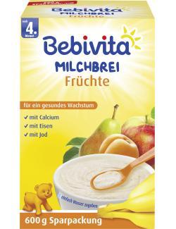 Bebivita Milchbrei Fr�chte  (600 g) - 4018852004349