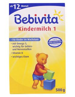 Bebivita Kindermilch 1 ab 12. Monat  (500 g) - 4018852002550