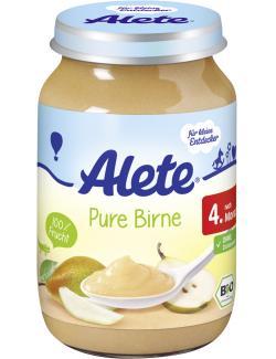 Alete Pure Birne  (190 g) - 4005500023340