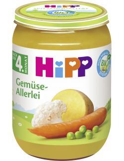 Hipp Gem�se-Allerlei  (190 g) - 4062300020313