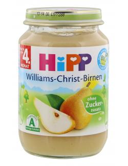 Hipp Williams-Christ-Birnen  (190 g) - 4062300027916