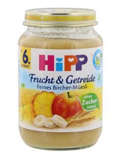 Hipp Frucht & Getreide Feines Bircher-M�sli  (190 g) - 4062300034006