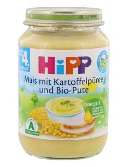 Hipp Mais mit Kartoffelpüree und Bio Pute  (190 g) - 4062300024717