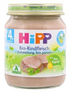Hipp Bio Rindfleisch  (125 g) - 4062300038110