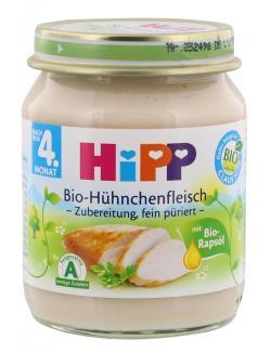 Hipp Bio H�hnchenfleisch  (125 g) - 4062300038318