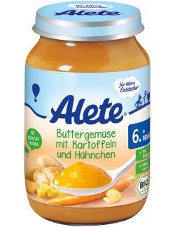 Alete Buttergem�se mit Kartoffeln & H�hnchen  (190 g) - 4005500410157