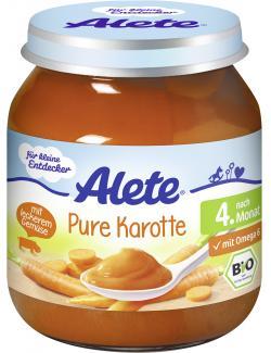 Alete Pure Karotten  (125 g) - 4005500084679