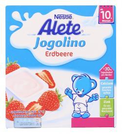 Alete Jogolino Erdbeere  (4 x 100 g) - 4005500071648