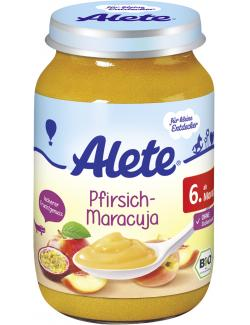 Alete Pfirsich-Maracuja  (190 g) - 4251099601951