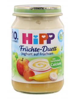 Hipp Fr�chte-Duett Joghurt auf Fr�chten  (160 g) - 4062300076686