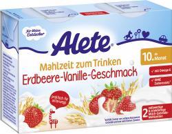 Alete Mahlzeit zum Trinken Erdbeere-Vanille-Geschmack  (2 x 200 ml) - 4251099604822