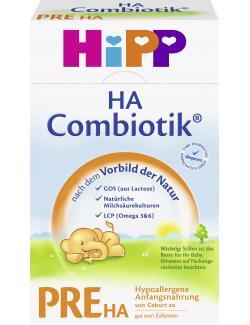 Hipp PRE HA Combiotik hypoallergene Anfangsnahrung  (500 g) - 4062300119635