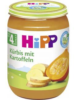 Hipp Gem�se K�rbis mit Kartoffeln  (190 g) - 4062300129443
