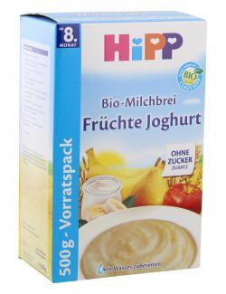 Hipp Bio Milchbrei Fr�chte Joghurt  (500 g) - 4062300154117