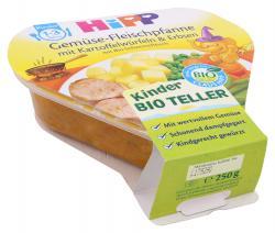 Hipp Gemüse-Fleischpfanne mit Kartoffelwürfeln & Erbsen  (250 g) - 4062300166707