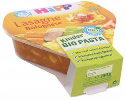 Hipp Kinder Bio Pasta Lasagne Bolognese  (250 g) - 4062300166943