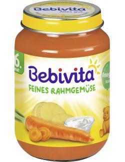 Bebivita Feines Rahmgemüse  (190 g) - 4018852012283