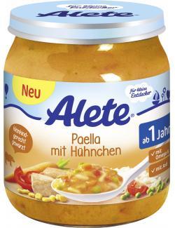 Alete Paella mit H�hnchen  (250 g) - 4251099603382
