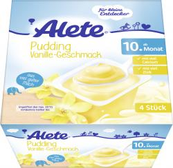 Alete Puddelino Vanille-Geschmack  (4 x 100 g) - 4005500071310