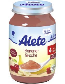 Alete Banane-Kirsche  (190 g) - 4251099601913