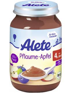 Alete Pflaume & Apfel  (190 g) - 4251099602002