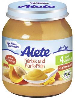 Alete Kürbis & Kartoffeln  (125 g) - 4251099600268