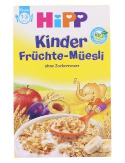 Hipp Kinder Früchte-Müesli  (200 g) - 4062300176140