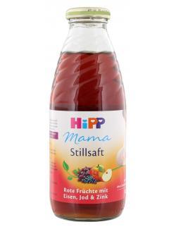 Hipp Mama Stillsaft rote Fr�chte mit Eisen, Jod & Zink  (500 ml) - 4062300056596