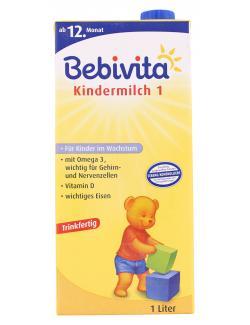 Bebivita Kindermilch 1 ab dem 12. Monat  (1 l) - 4018852002499