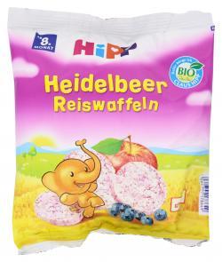 Hipp Heidelbeer Reiswaffeln  (35 g) - 4062300178649