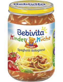 Bebivita Kinderk�che Spaghetti Bolognese  (250 g) - 4018852014928