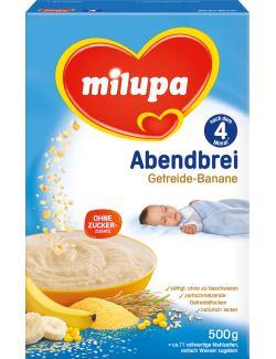 Milupa Abendbrei Getreide-Banane  (500 g) - 4008976072928