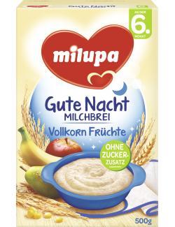 Milupa Gute Nacht Milchbrei 7 Korn  (500 g) - 4008976072935