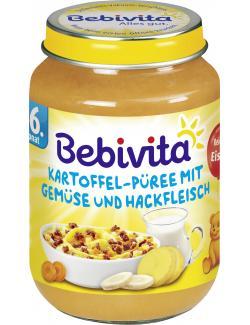 Bebivita Kartoffel-P�ree mit Gem�se und Hackfleisch  (190 g) - 4018852015406