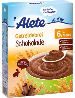 Alete Getreidebrei Schokolade  (250 g) - 4251099605744