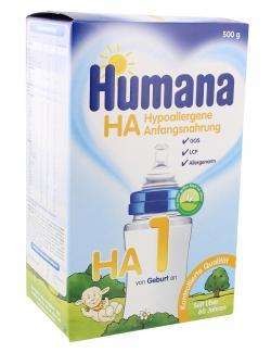 Humana HA 1 Anfangsnahrung  (500 g) - 4031244780447