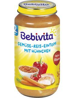 Bebivita Herzhafter Gem�se-Reis-Eintopf mit H�hnchen  (250 g) - 4018852017516