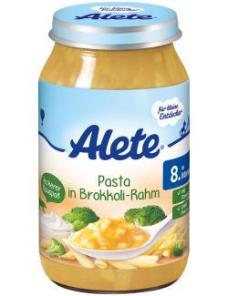 Alete Pasta in Brokkoli-Rahm  (220 g) - 4251099601012