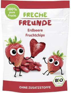 Erdb�r Freche Freunde Fruchtchips Erdbeere  (12 g) - 4260249140530