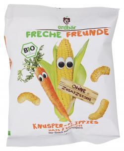 Erdb�r Freche Freunde Knusper-Flippies Mais & Karotte  (20 g) - 4260249140363