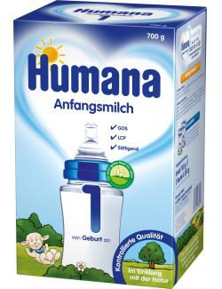 Humana Anfangsmilch 1  (700 g) - 4031244780577