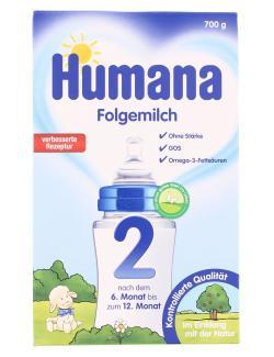 Humana Folgemilch 2  (700 g) - 4031244780393