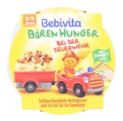 Bebivita Bären Hunger Schlauchnudeln Bolognese  (250 g) - 4018852019220