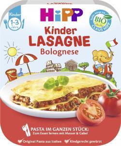 Hipp Kinder Lasagne Bolognese  (250 g) - 4062300237162