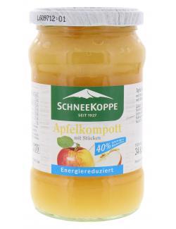Schneekoppe Apfelkompott mit St�cken  (340 g) - 40397924