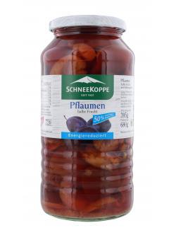 Schneekoppe Pflaumen halbe Frucht  (395 g) - 40397825