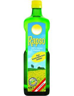 Rapso 100% reines Rapsöl  (750 ml) - 9001466207911