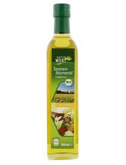 NaturWert Bio Sonnenblumen�l kaltgepresst  (500 ml) - 4250780317249