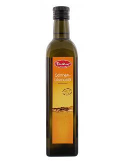 Frischland Sonnenblumen�l kaltgepresst  (500 ml) - 4001123106231