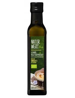 NaturWert Bio Lein�l kaltgepresst  (250 ml) - 4250780309336